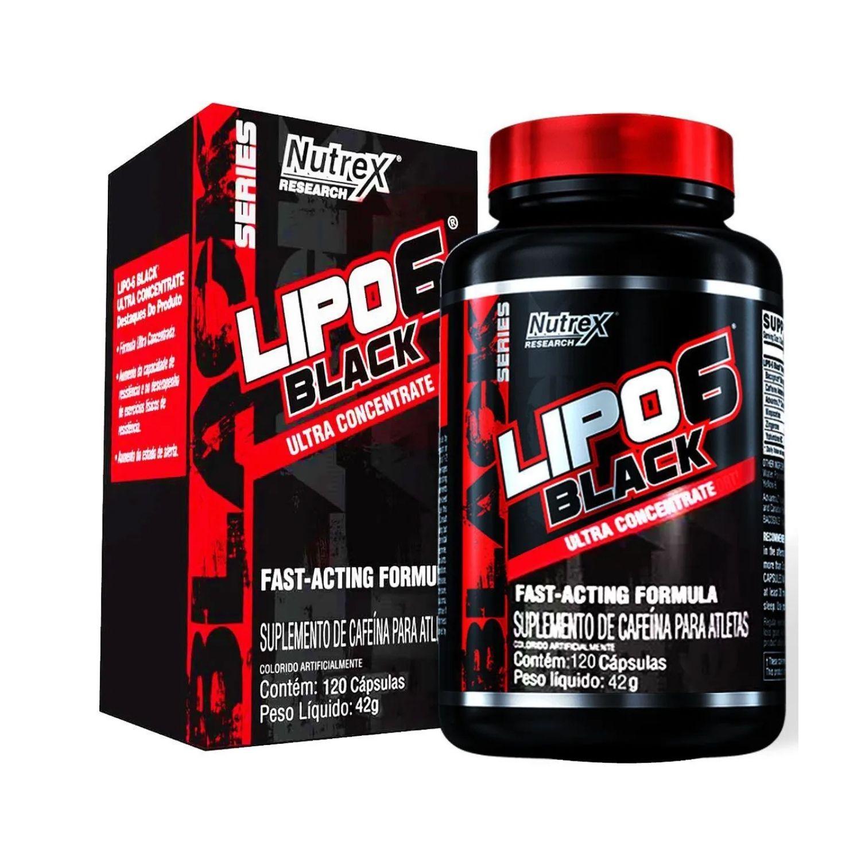 Lipo 6 Black Ultra Concentrado 120 Cápsulas Nutrex