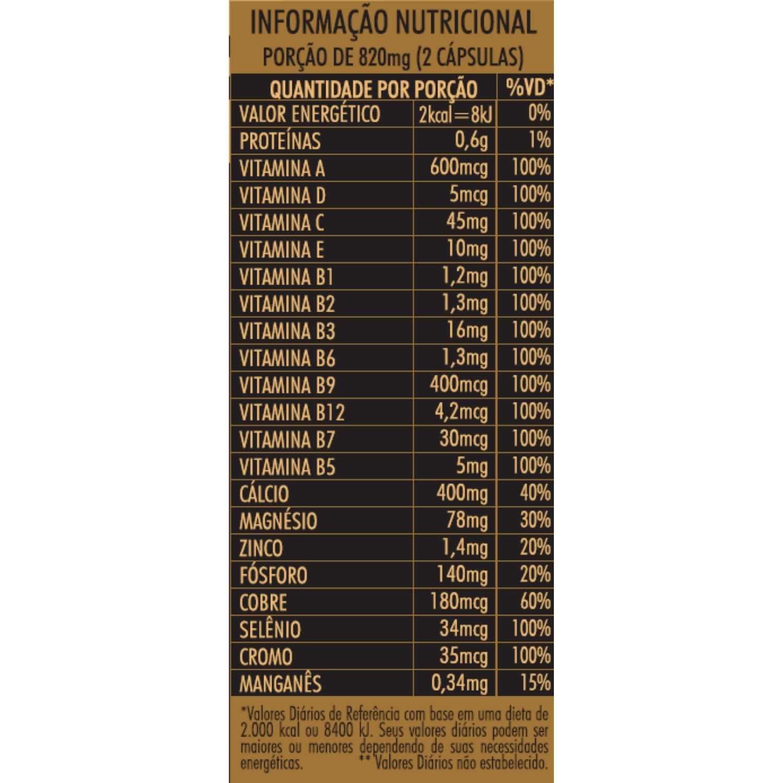 LuminiCare Hair, Skin e Nails Femme Multivitamínico 410 mg 60 Cápsulas Apisnutri