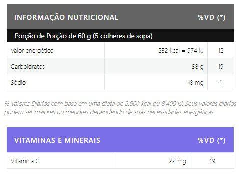 Maltodextrin + Vitamina C 1kg Body Nutry