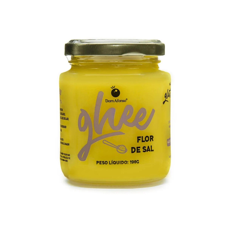 Manteiga Ghee Flor de Sal Pequena 200g Dom Afonso