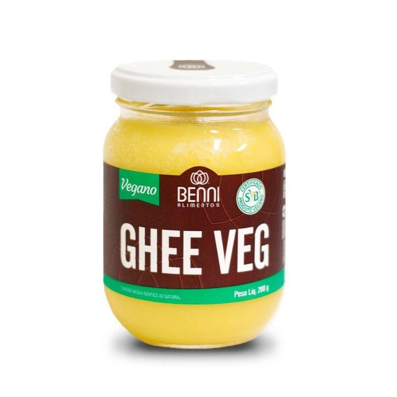 Manteiga Ghee Vegana Tradicional 200g Benni