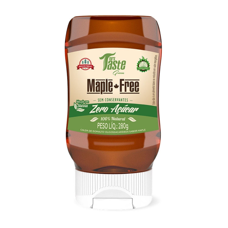 Maple-Free 280g Mrs Taste Maple Syrup Zero Açúcar