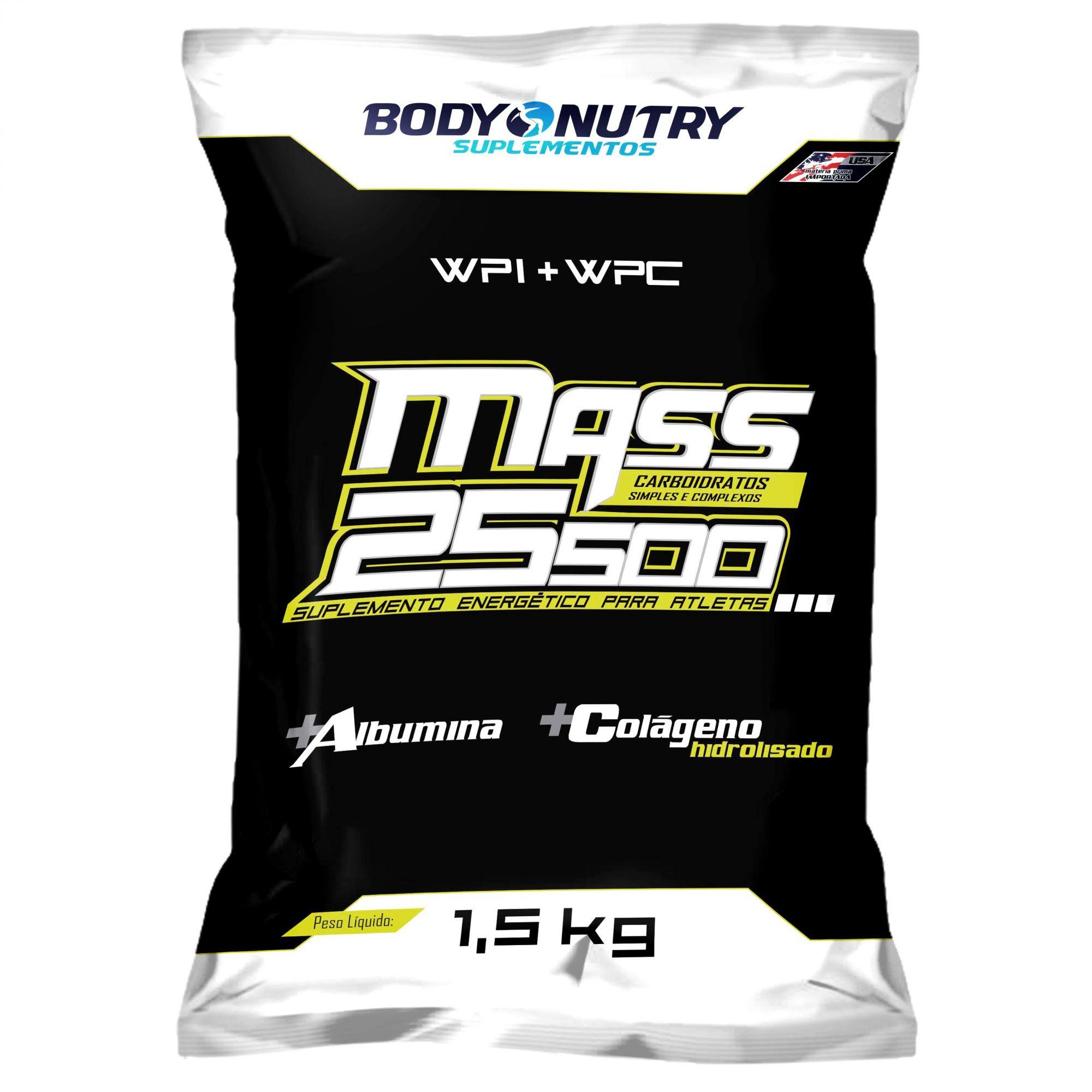Mass 25500 1,5kg Body Nutry
