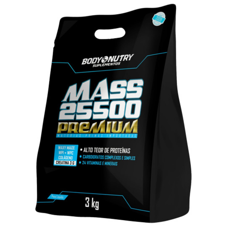 Mass 25500 Premium 3kg Body Nutry