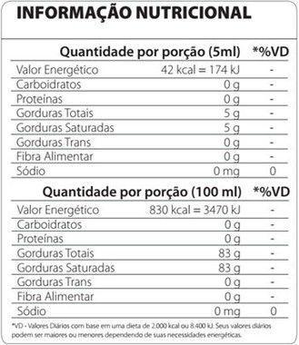 MCT 3 Gliceril 250ml Atlhetica Nutrition