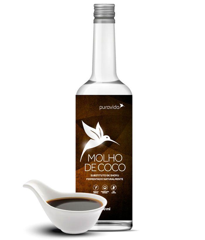 Molho de Coco 500ml Puravida