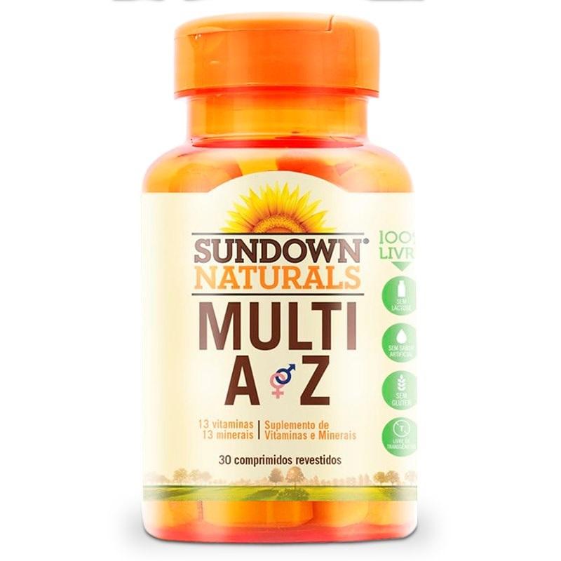 MULTIVITAMÍNICO DE A Z 30 CP SUNDOWN