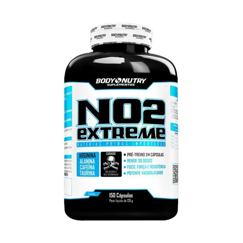 NO2 Extreme 150 Cápsulas Body Nutry