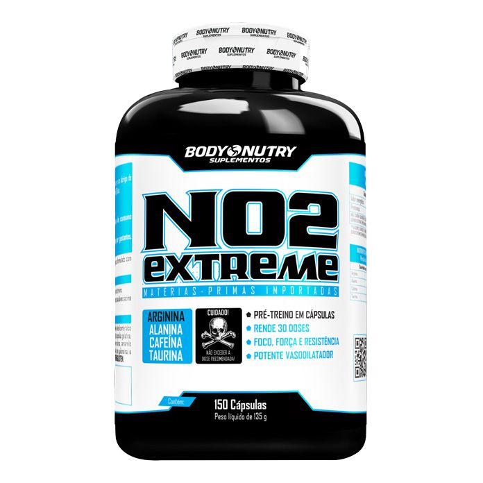 NO2 Extreme 150 Cápsulas Body Nutry