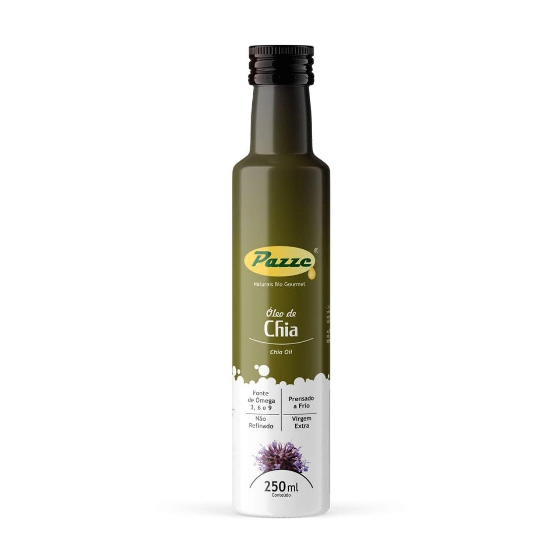 Óleo de Chia Vegetal Pazze 250ml