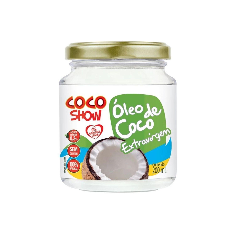 Óleo de Coco Extra Virgem 200g Coco Show