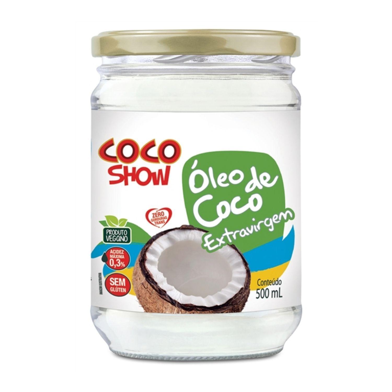 Óleo de Coco Extra Virgem 500g Coco Show