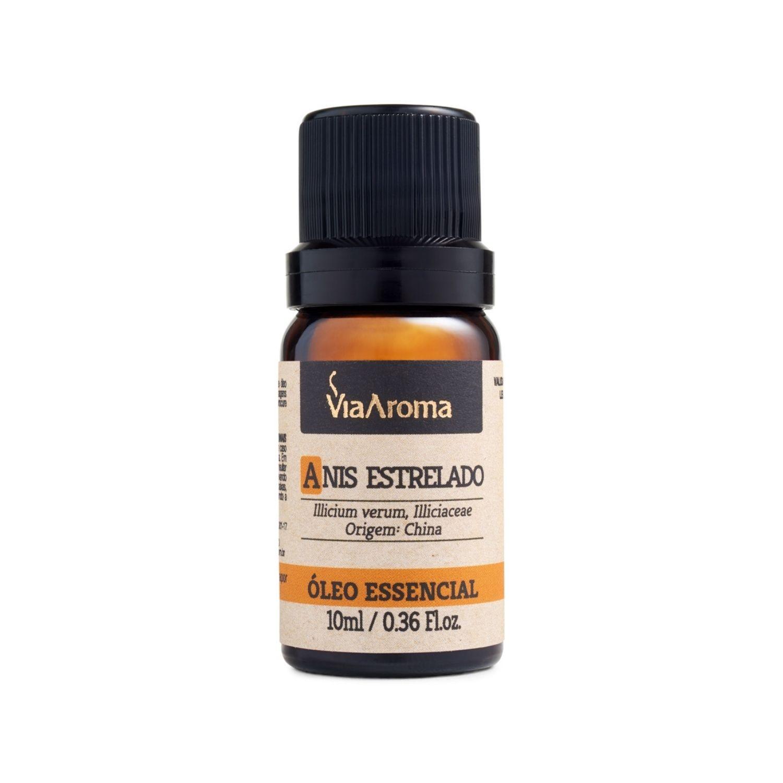 Óleo Essencial de Anis Estrelado 10ml Via Aroma 100% Natural