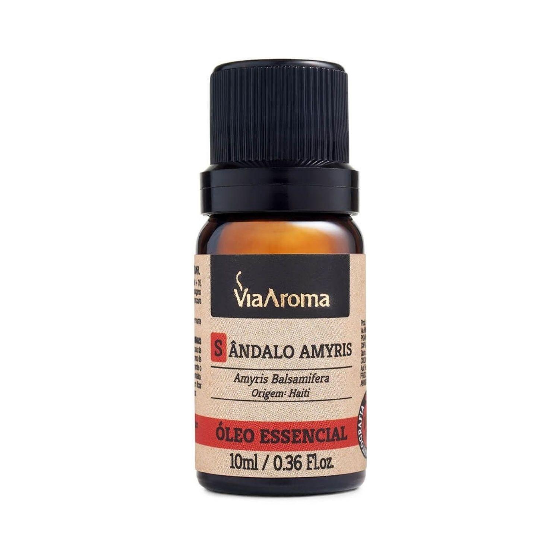 Óleo Essencial de Sândalo 10ml Via Aroma 100% Natural