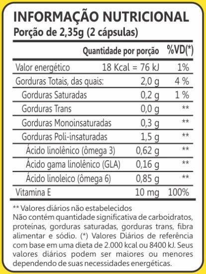 Ômega Triplo GLA 3-6-9 1000mg 60 Cápsulas Maxinutri