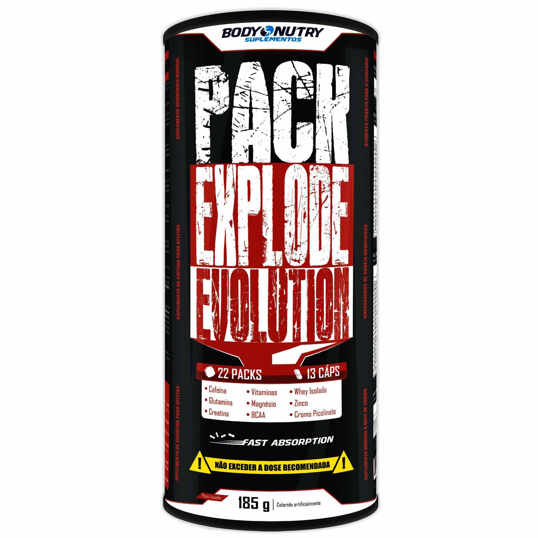 Pack Explode Evolution 22 Packs Body Nutry