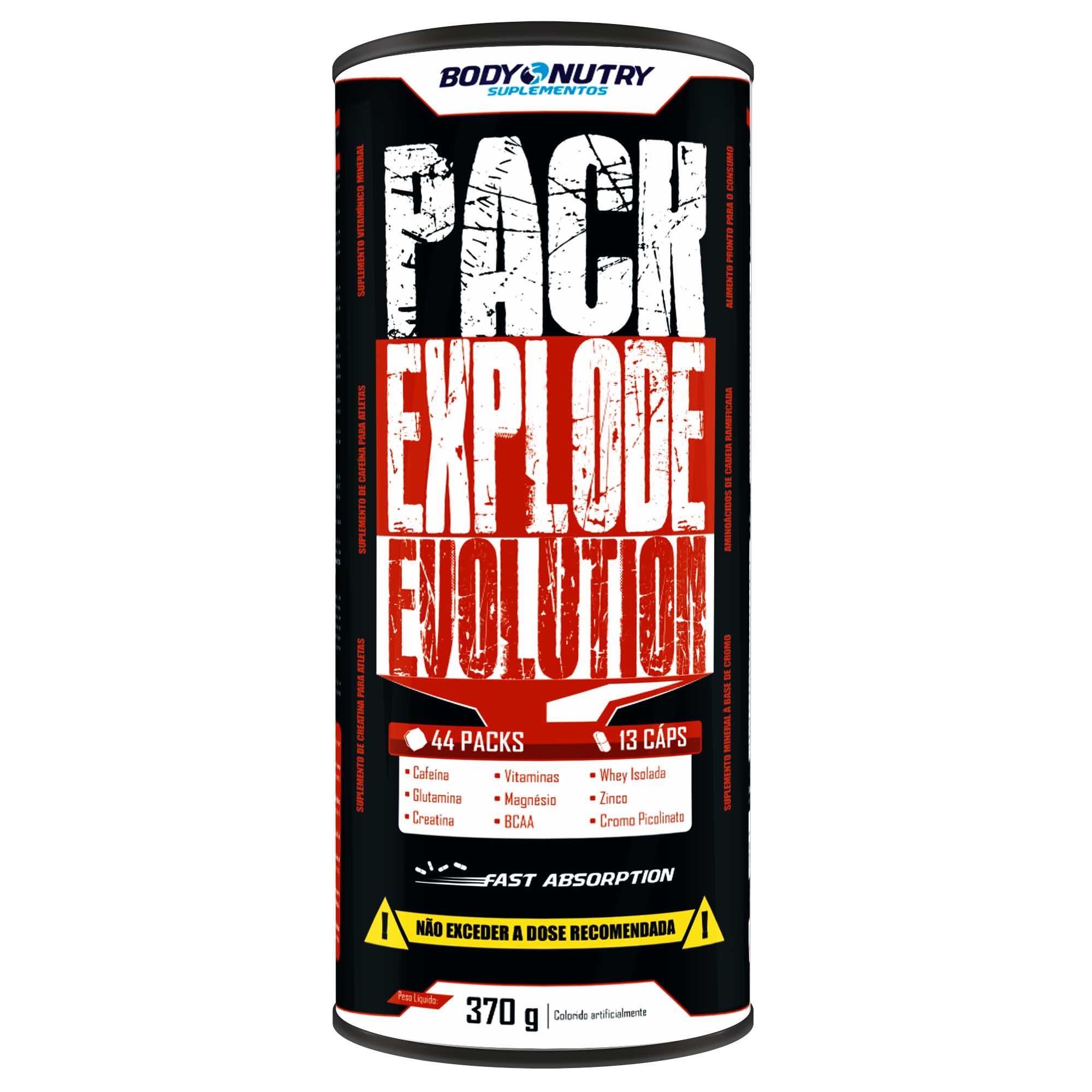 Pack Explode Evolution 44 Packs Body Nutry