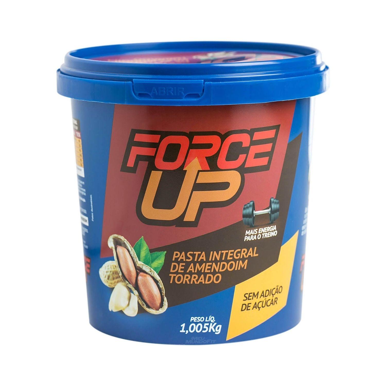 Pasta de Amendoim Integral Force UP Amendoim Torrado 1Kg