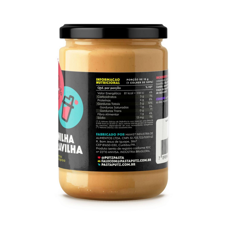 Pasta de Amendoim Putz! Baunilha Maravilha com Whey Protein 600g
