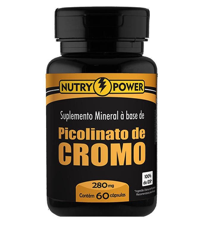 Picolinato de Cromo 60 Cápsulas Nutry Power