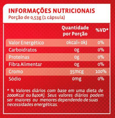 Picolinato de Cromo Maxx 120 Cápsulas Maxinutri