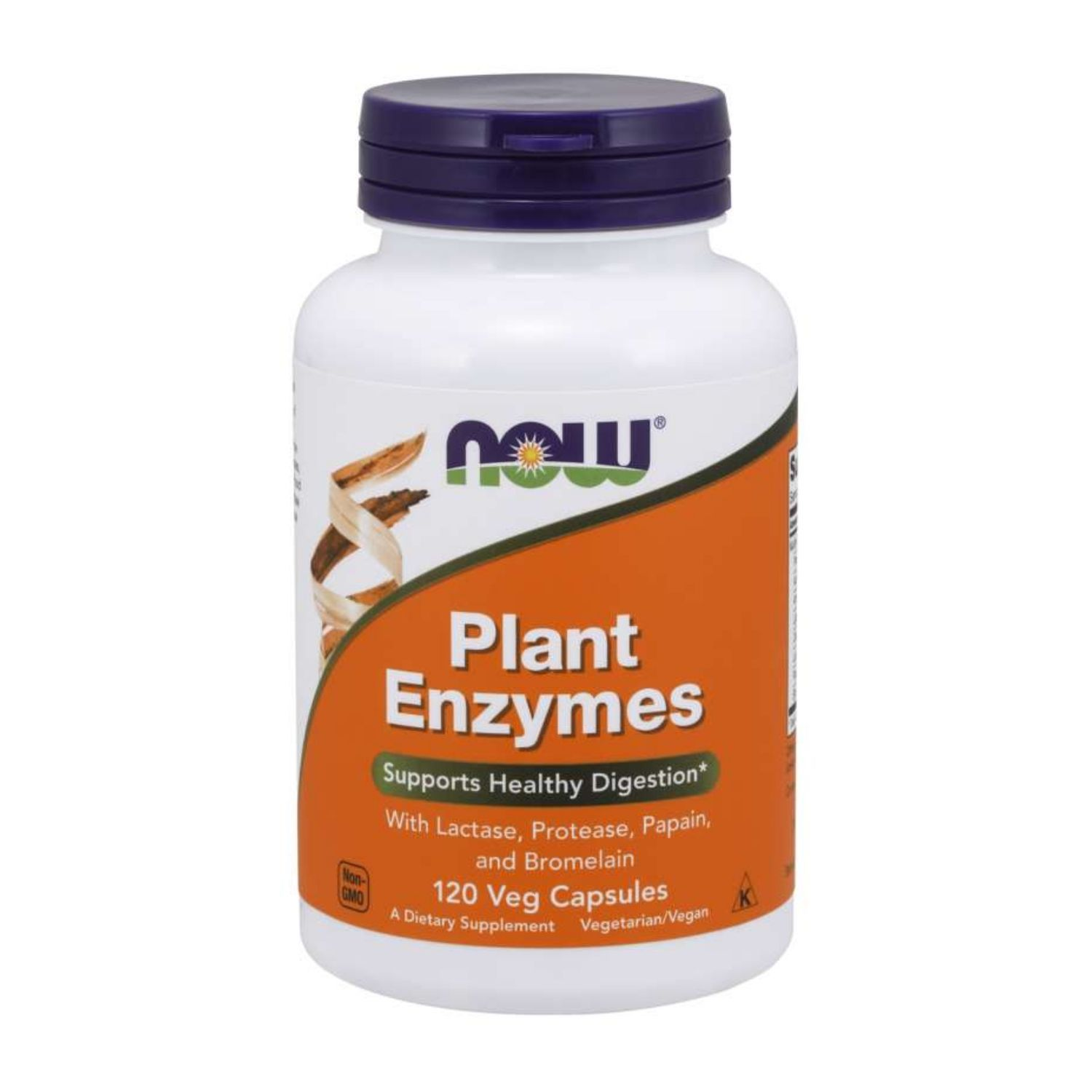 Plant Enzymes 120 Cápsulas Now Foods