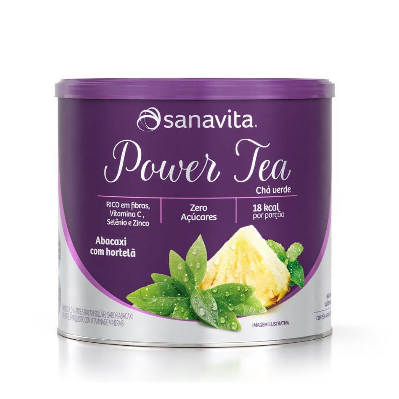 Power Tea Chá Verde 200g Sanavita