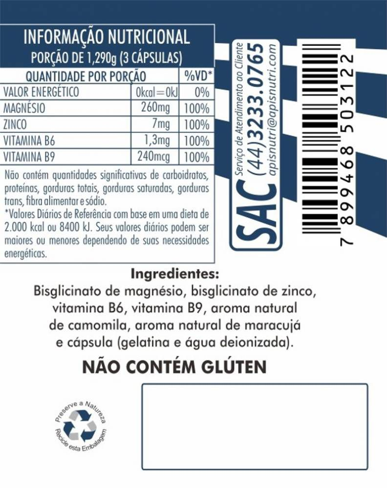 Pró Melaton 120 Cápsulas Apisnutri