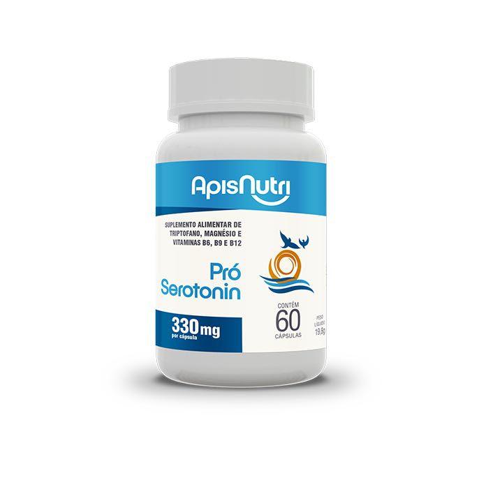 Pró Serotonin 60 Cápsulas Apisnutri