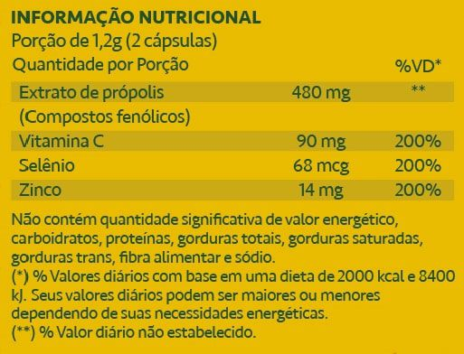 Propomune Extrato de Própolis 60 Cápsulas Maxinutri