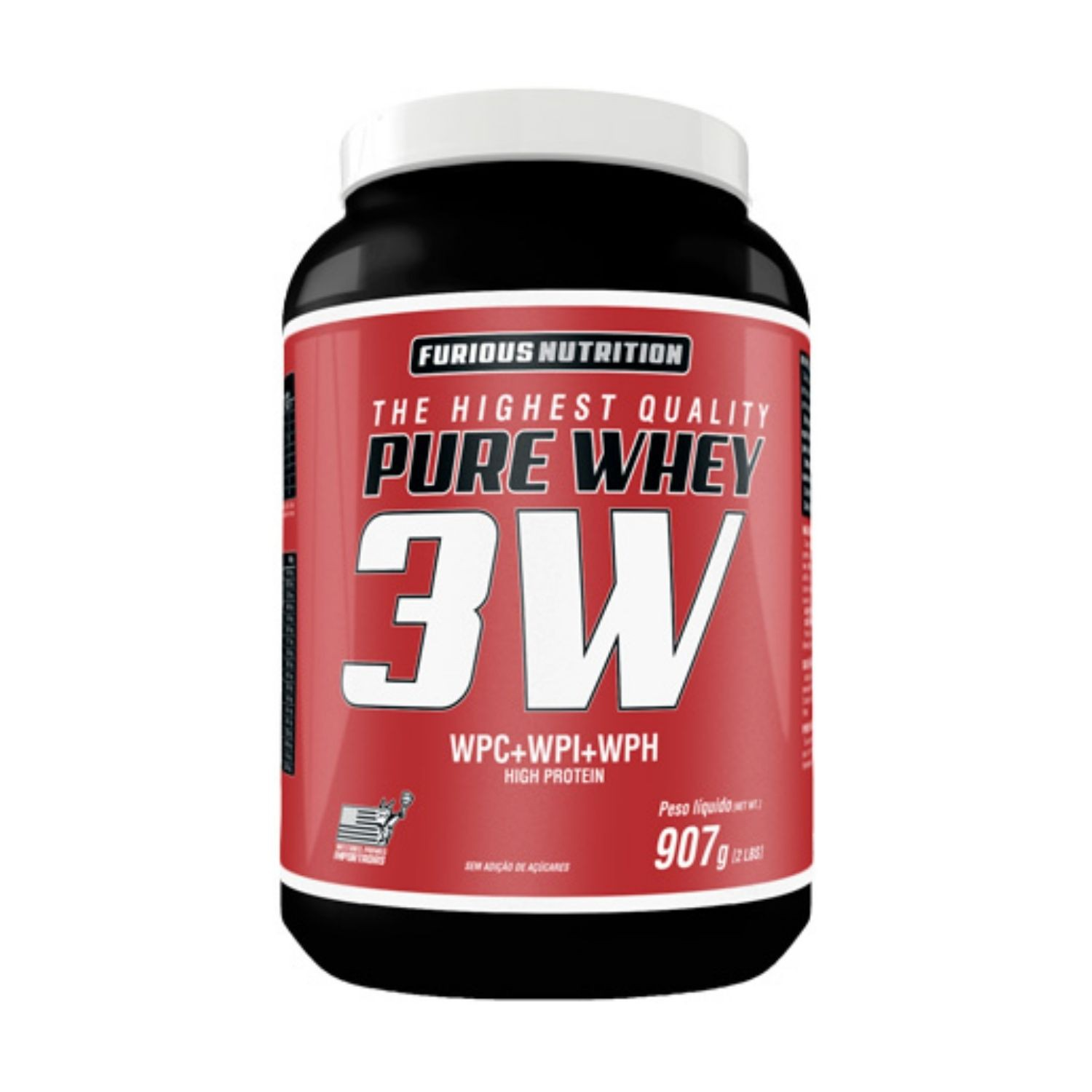 Pure Whey 3W 907g Furious Nutrition