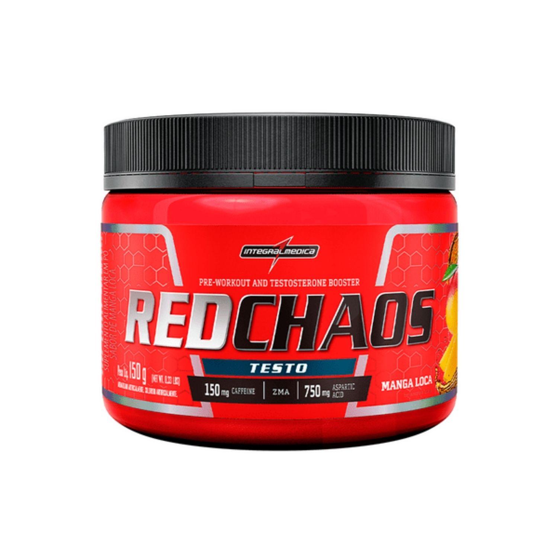 Red Chaos Testo 150g Integralmedica
