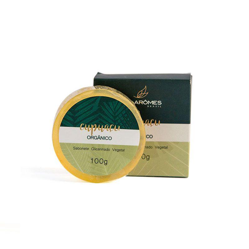 Sabonete Glicerinado Vegano Cupuaçu Orgânico 100g