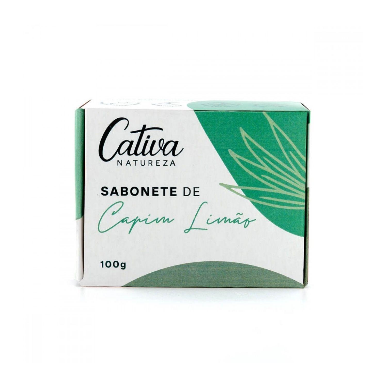 Sabonete Vegetal Capim Limão Orgânico Natural Vegano 100g