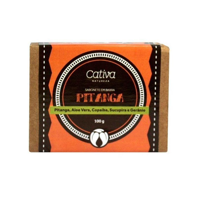 Sabonete Vegetal Pitanga Orgânico Natural Vegano 100g