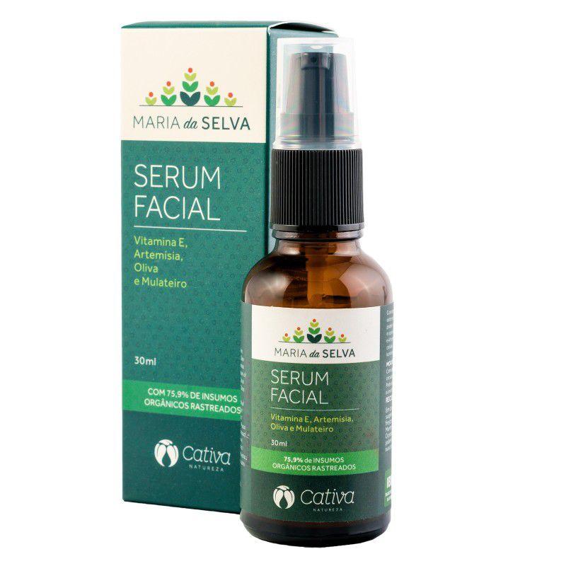 Serum Facial Maria da Selva Orgânico Natural Vegano 30ml
