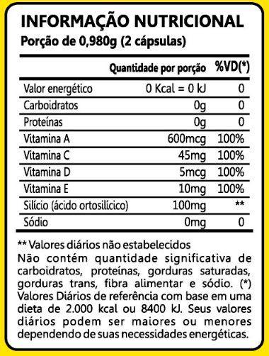 Silício Quelato 60 Cápsulas Maxinutri