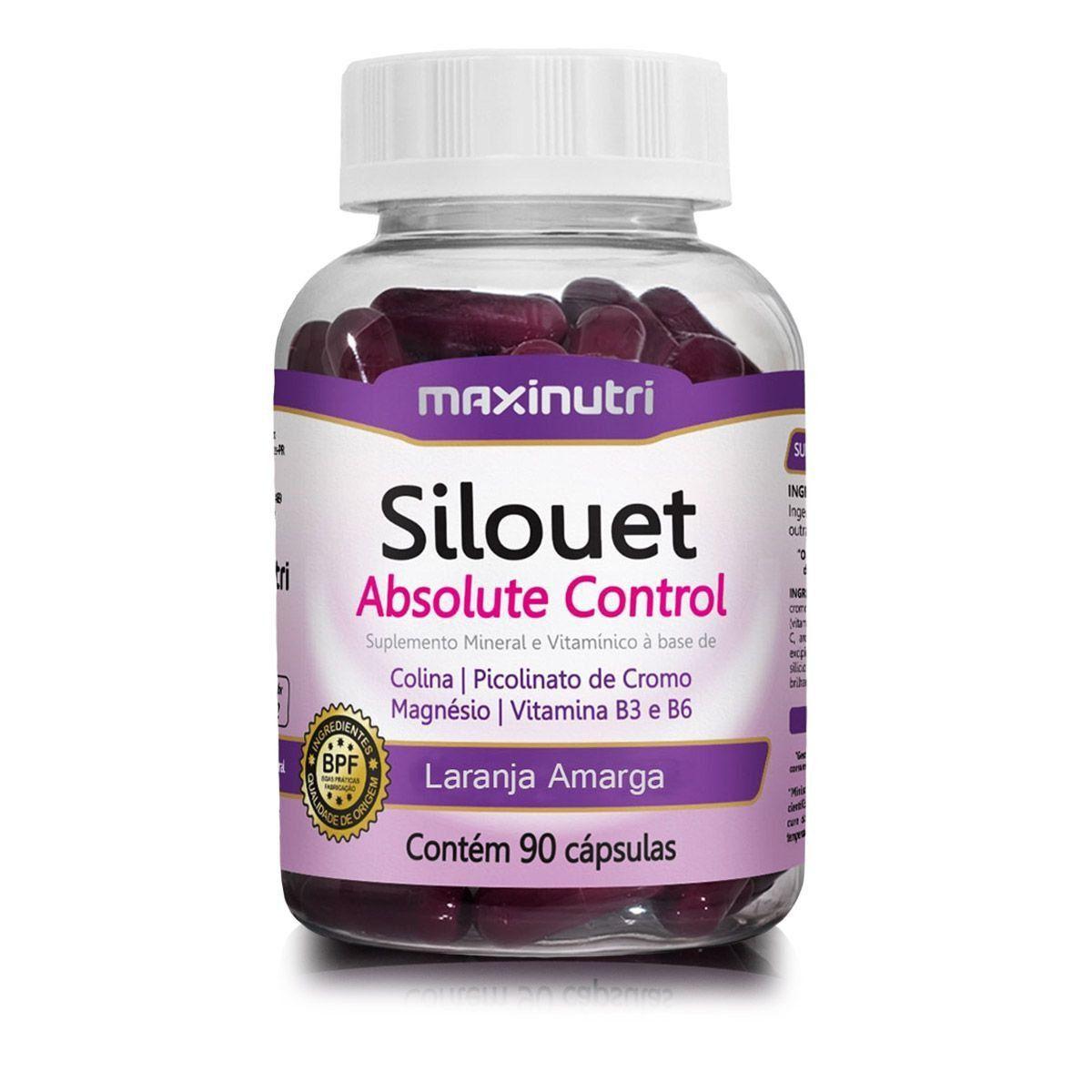 Silouet Absolute Control 90 Cápsulas Maxinutri