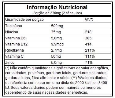 Sleepure L-Triptofano 60 Cápsulas Atlhetica Nutrition