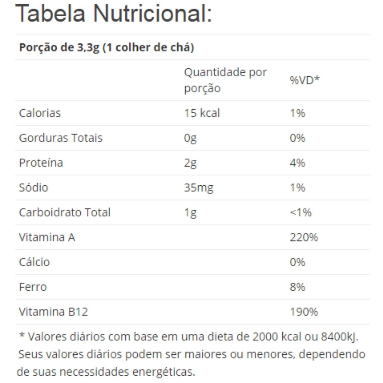 Spirulina Pura em Pó 113g Now Foods