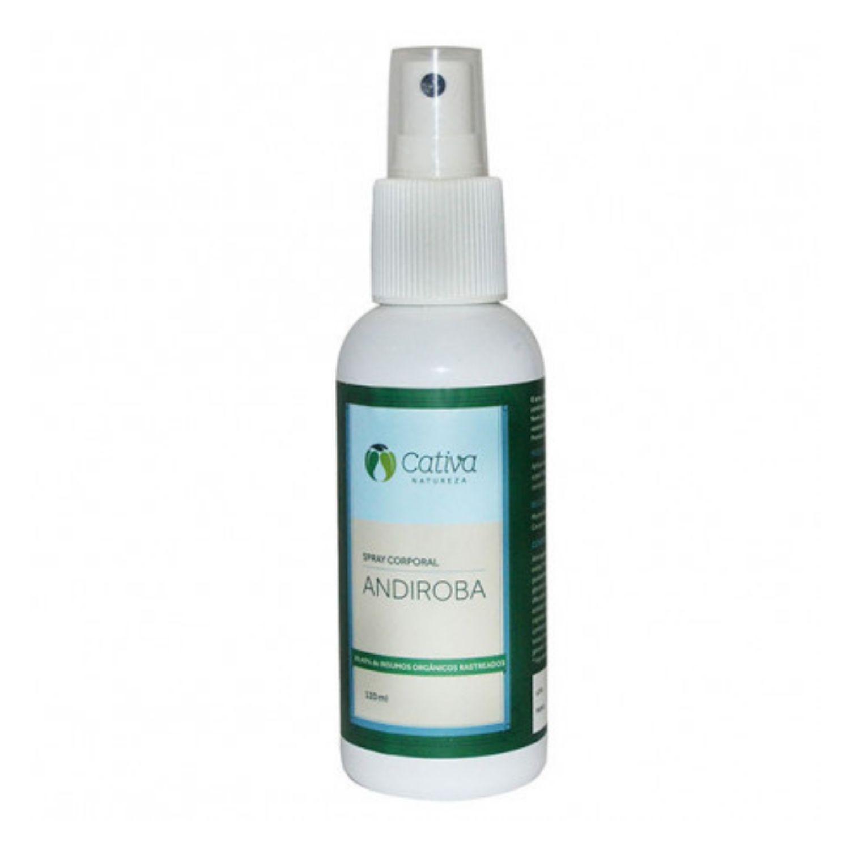 Spray Repelente Antisséptico Andiroba Orgânico Natural Vegano 120ml Cativa Natureza