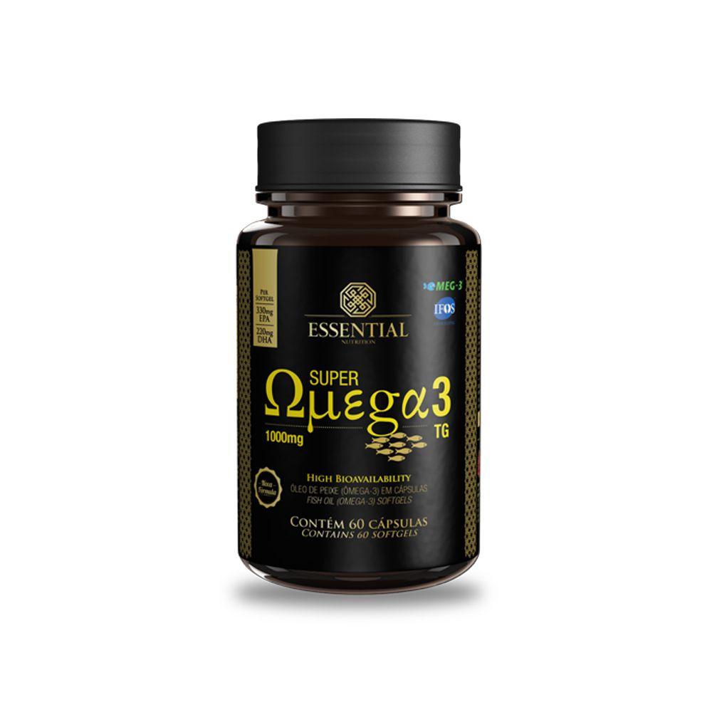 Super Ômega 3 TG 1000mg 60 Cápsulas Essential Nutrition