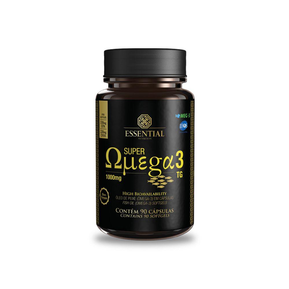 Super Ômega 3 TG 1000mg 90 Cápsulas Essential Nutrition
