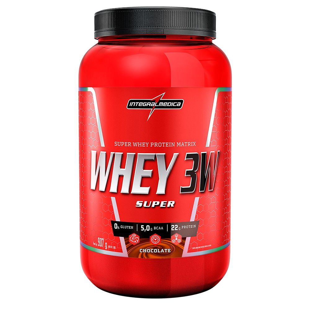 Super Whey 3W 907g Integralmedica
