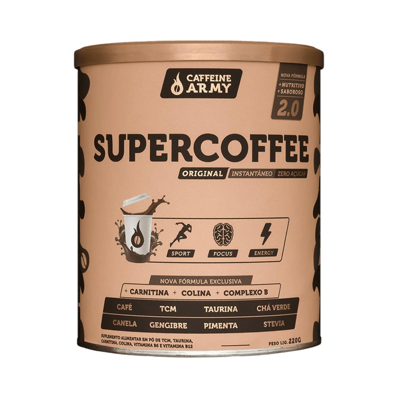 SuperCoffee 220g Café Termogênico com TCM