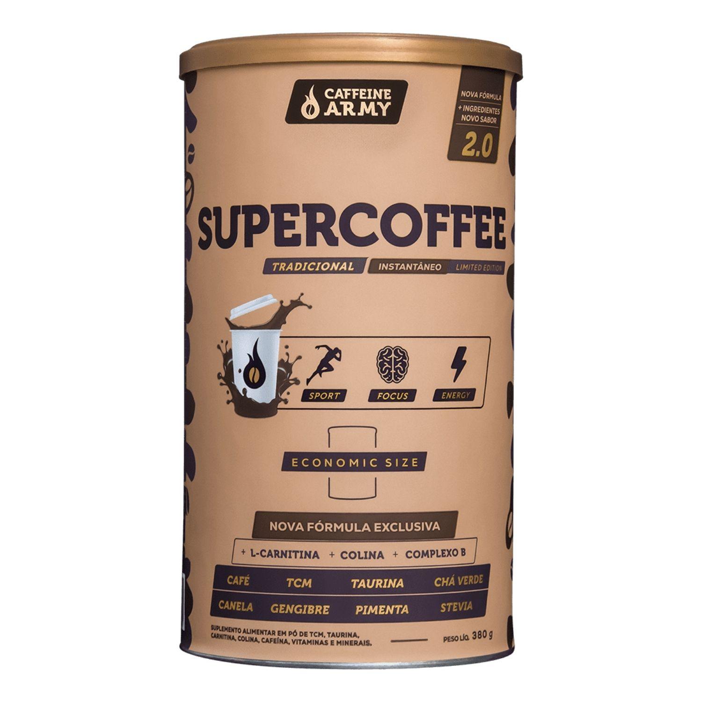 SuperCoffee 380g Café Termogênico com TCM