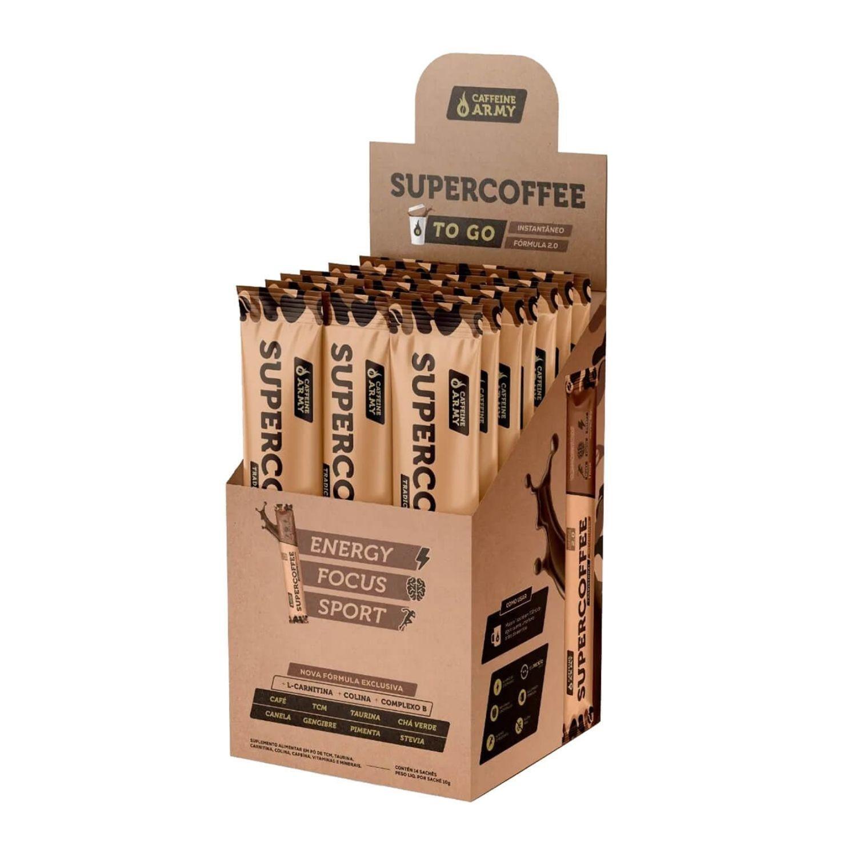 SuperCoffee To Go 14 Sachês Café Termogênico com TCM
