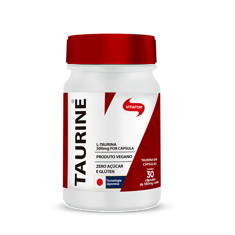 Taurine 30 Cápsulas Vitafor