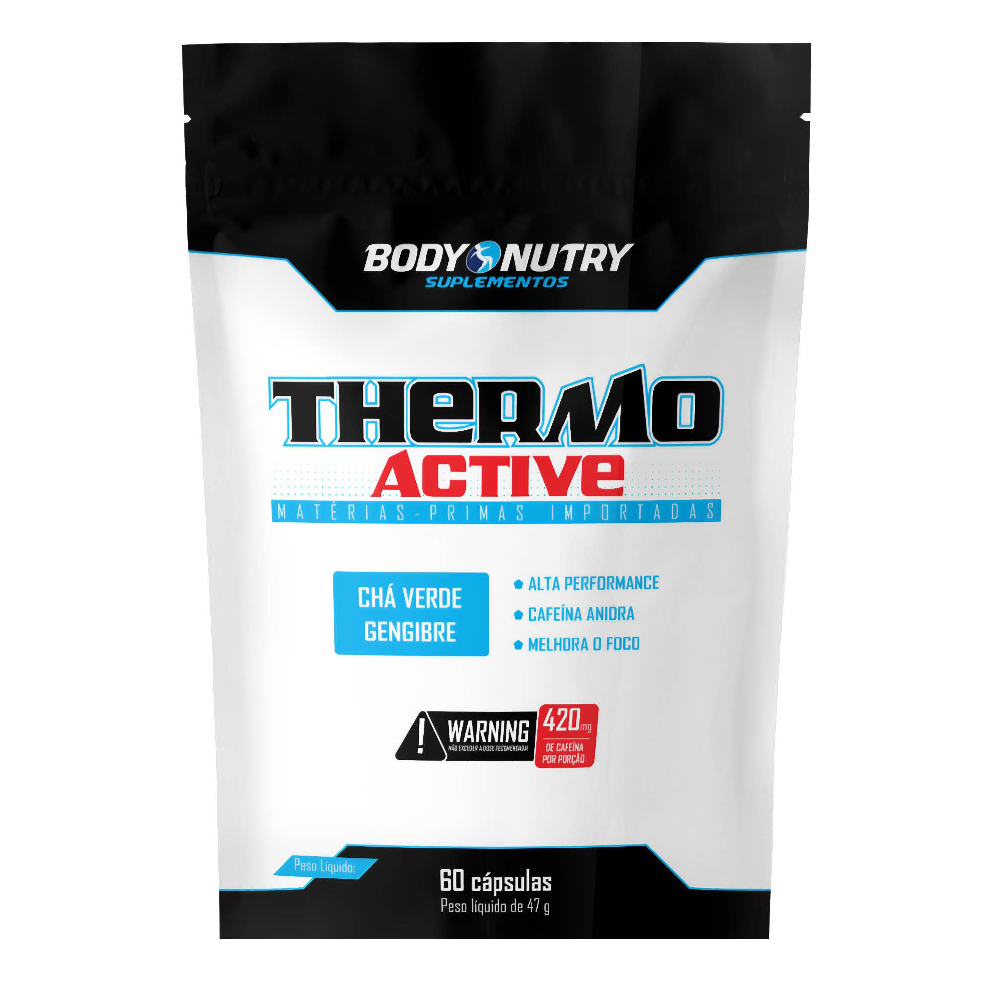Thermo Active Refil 60 Cápsulas Body Nutry