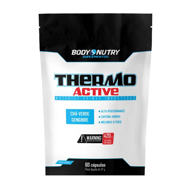 Thermo Active Refil 60 Cápsulas Body Nutry